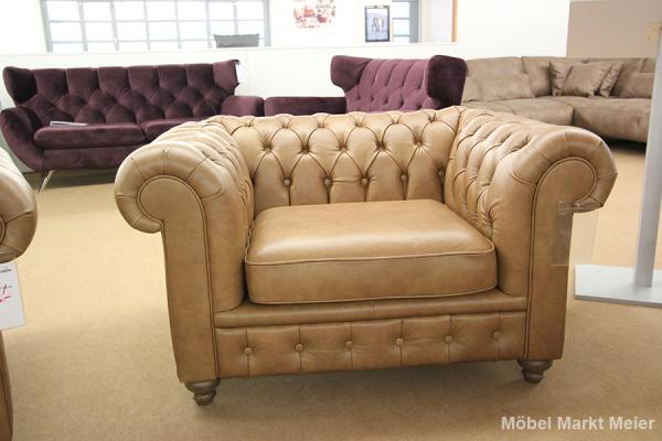 Sessel Chesterfield 1,5-sitzig