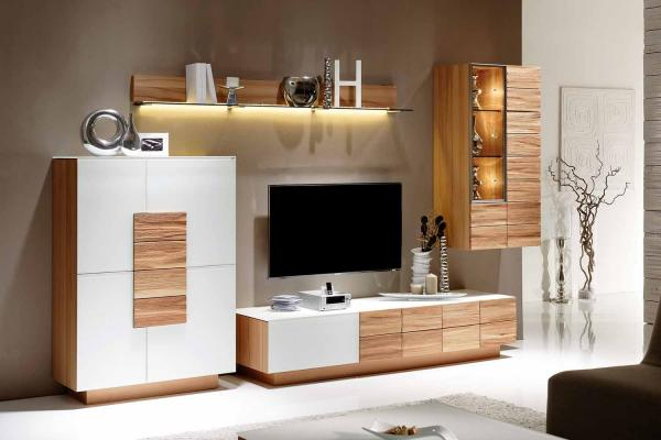 voglauer v montana wohnwand 235 m bel markt meier. Black Bedroom Furniture Sets. Home Design Ideas